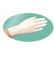 Перчатки одноразовые белого цвета (100 шт)
