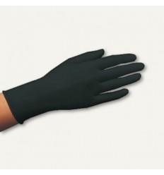 Перчатки одноразовые черного цвета (100 шт)