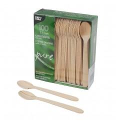 Чайная деревянная ложечка (100 шт)
