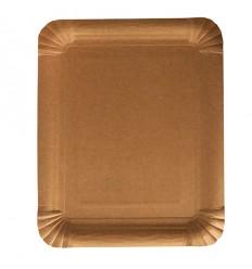 Бумажная тарелка Крафт 250 шт