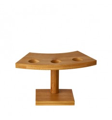 Подставка деревянная для фуршетного конуса