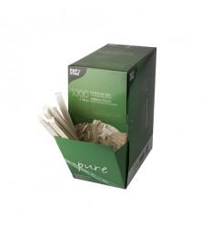 Деревянные палочки мешалки для чая/кофе в инд.упаковке (1000 шт)