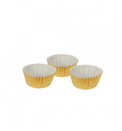 Форма для выпечки золотого цвета (60 шт)