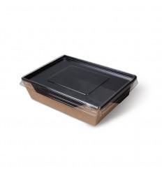 Салатник с прозрачной крышкой 800 ml