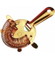 Стрейнер 4-ушка золотого цвета