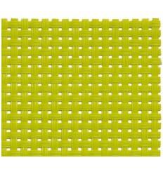 Скатерть сервировочная под тарелку зеленого цвета