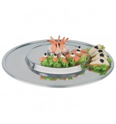 Блюдо круглое сервировочное