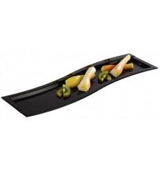 Тарелка черного цвета