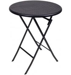 Стол коктейльный коричневого цвета