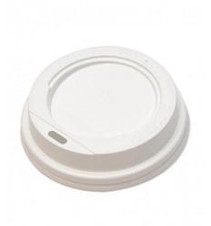 Крышка белая для стакана 100 мл (100 шт)