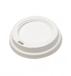 Крышка белая для стакана 170 мл (100 шт)