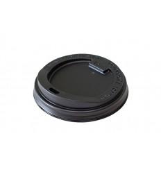 Крышка черная для стакана 300/400 мл (100 шт)