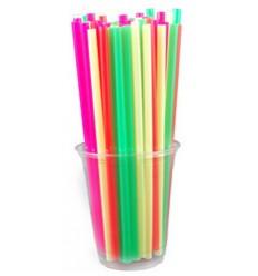 Трубочка фреш разноцветная (250 шт)