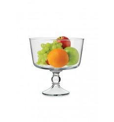 Стеклянная подставка для конфет/фруктов