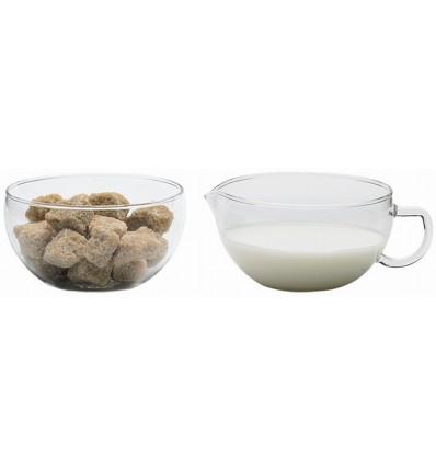 Сахарница и молочник Trendglas
