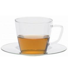 Чашка с блюдцем Trendglas