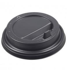 Крышка черная для стакана 250 мл (100 шт)