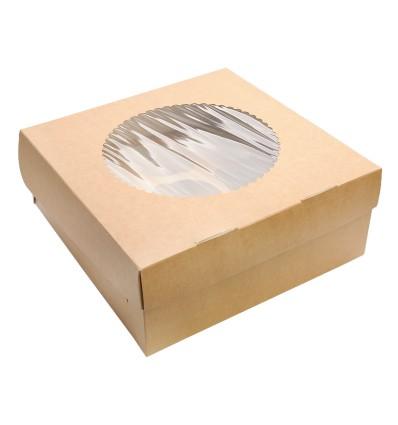 Упаковка для 9 маффинов eco (25 шт)