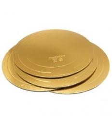 Подложка для торта Gold (толщина 2,5 мм)