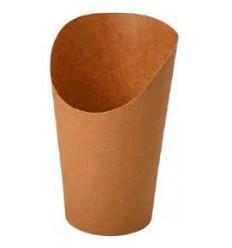 Упаковка для картофеля фри  Крафт ECO Snack Cup M