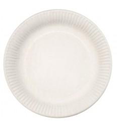Тарелка белая 20 шт