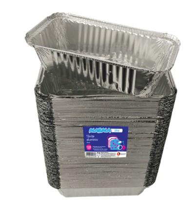 Vas de aluminiu pentru copt + coperta de hârtie