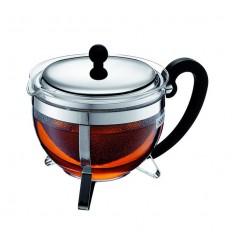 Чайник Пресс Chambord  Черный c Металической Крышкой