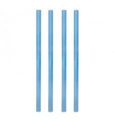 "Трубочка ""фреш"" голубого цвета, 135 шт"