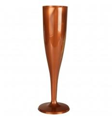 Бокал для шампанского коричневого цвета (6 шт)